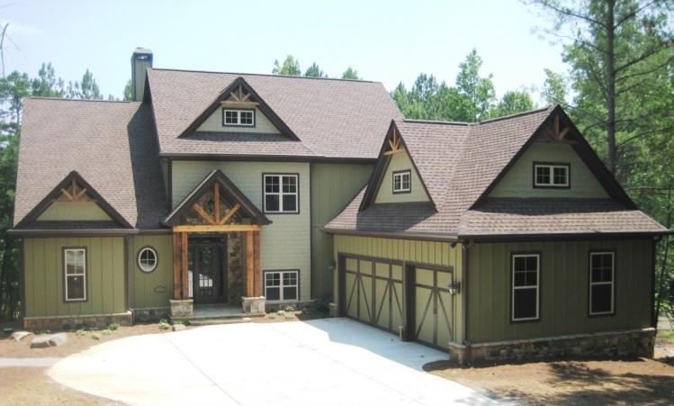 mountain area homes designs - Rustic Mountain Home Designs
