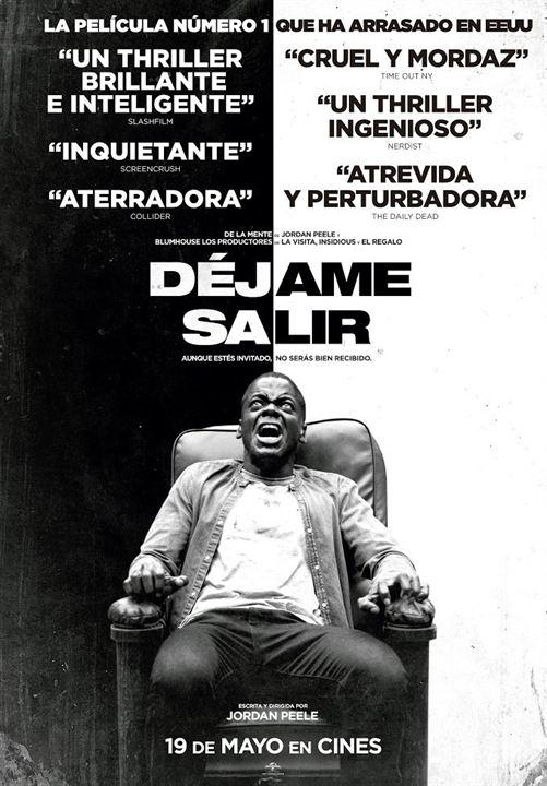 Déjame Salir (Get out) - Cartel