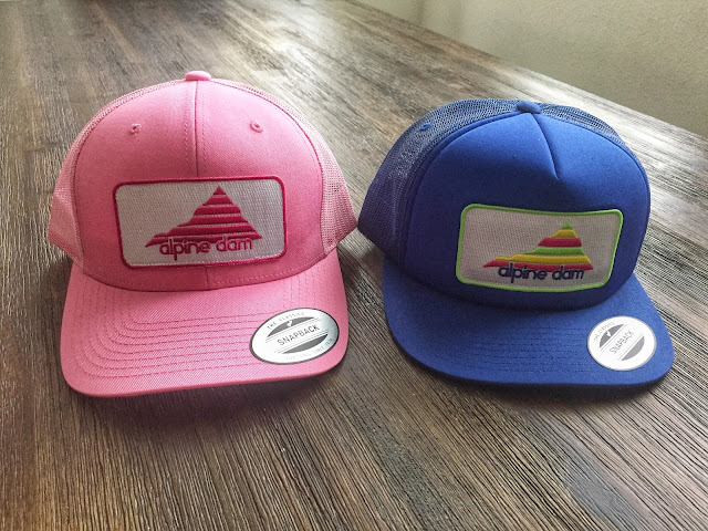 Alpine Dam Trucker hats