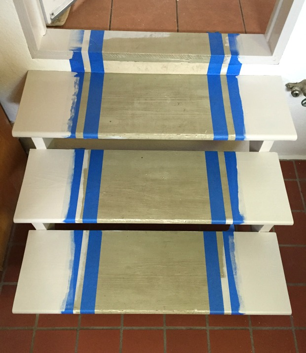 painted stripe runner tutorial