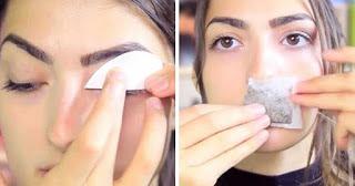 Βάζει ένα κομμάτι χαρτί στο βλέφαρό της και όταν το βγάζει συμβαίνει κάτι μοναδικό! (video)