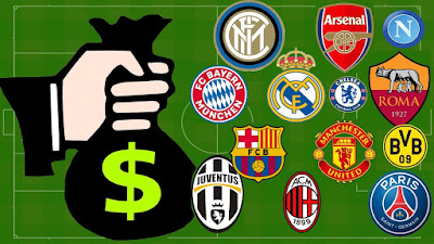 20 richest clubs in the world