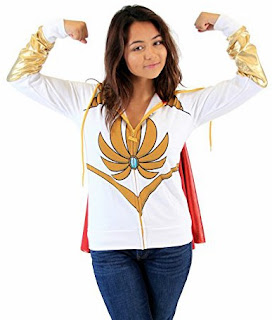 She-Ra Shirt and Cape Costume
