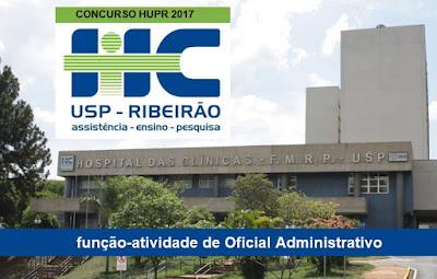 concurso público HURP edital 2017