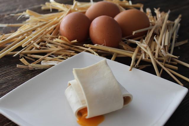 Bocata de huevo de caserío - Mi caja de recetas