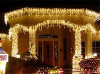 Новый Год,гирлянды на Новый Год, украшение домов, музыкальное украшение на Новый Год