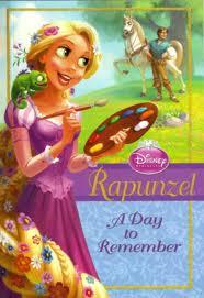 Disney Princess: Nuevo libro de Rapunzel A Day To Remember 2012