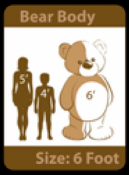 GiantTeddy.com shows you just how BIG our bears