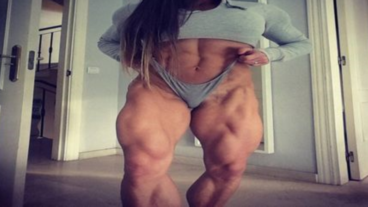Natalia Kuznetsova is one of the most muscular women in Russia (video)