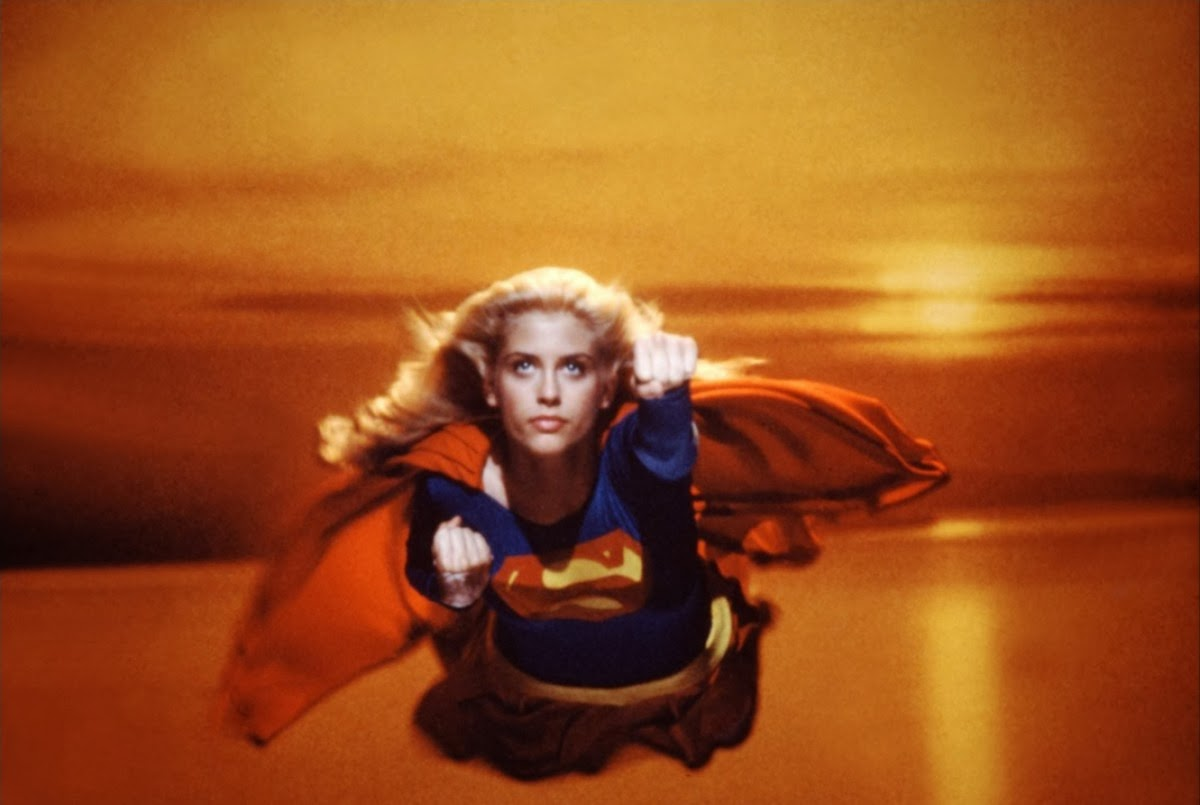 Helen Slater As Supergirl 1984 Vintage Everyday