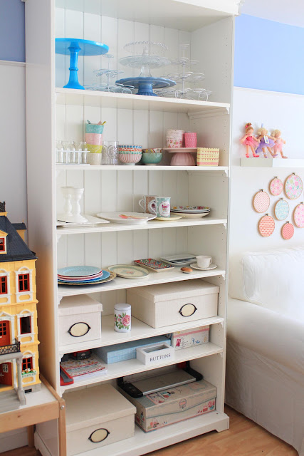Craft room, cuarto de manualidades, stands para tartas