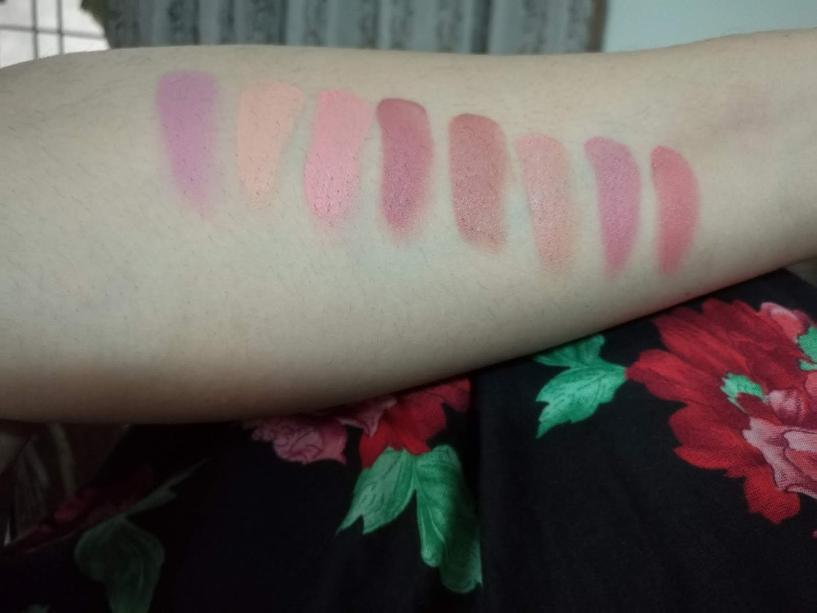 Lipstick Palette Review and Swatches
