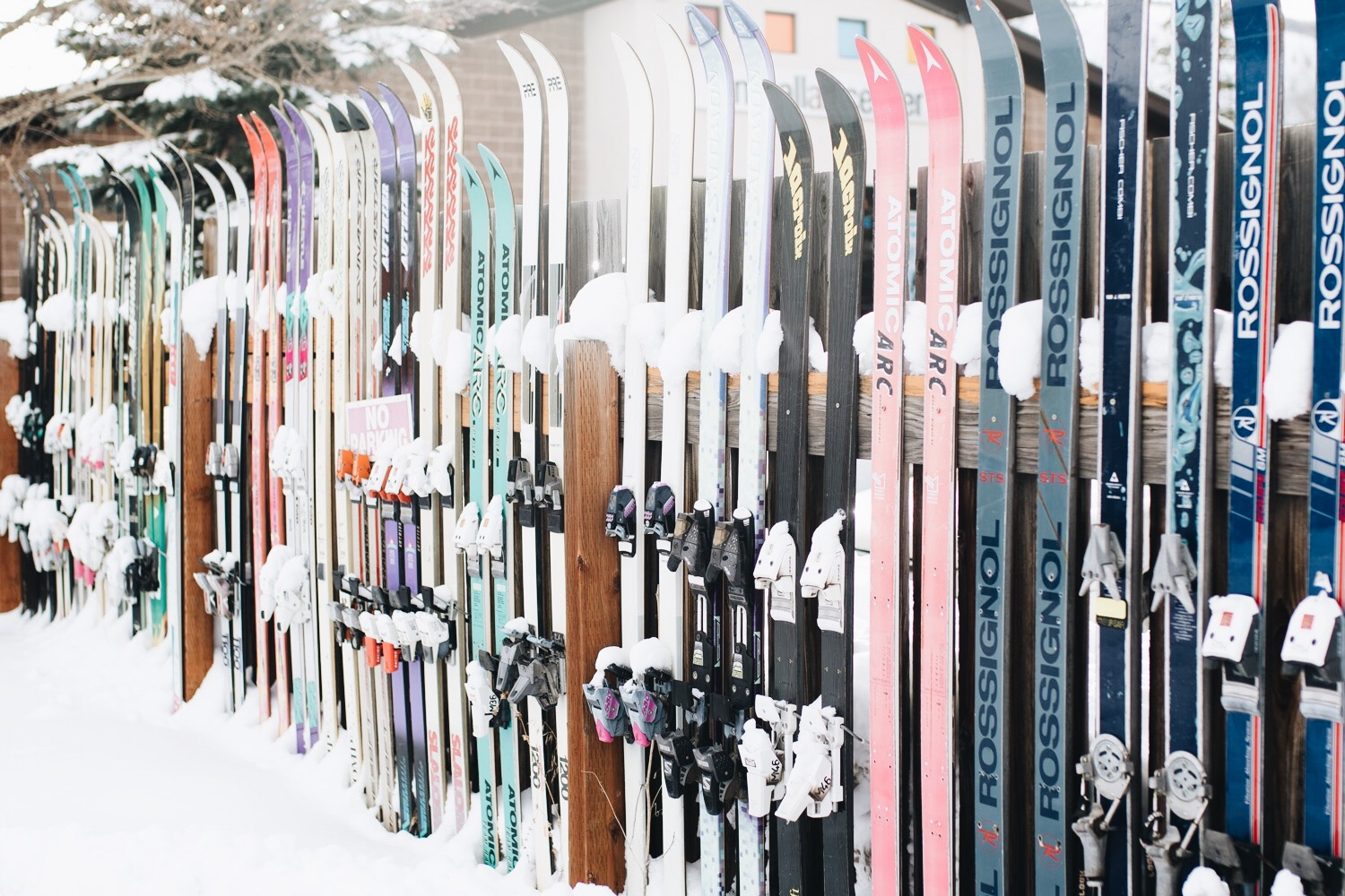 ski fence in Park City