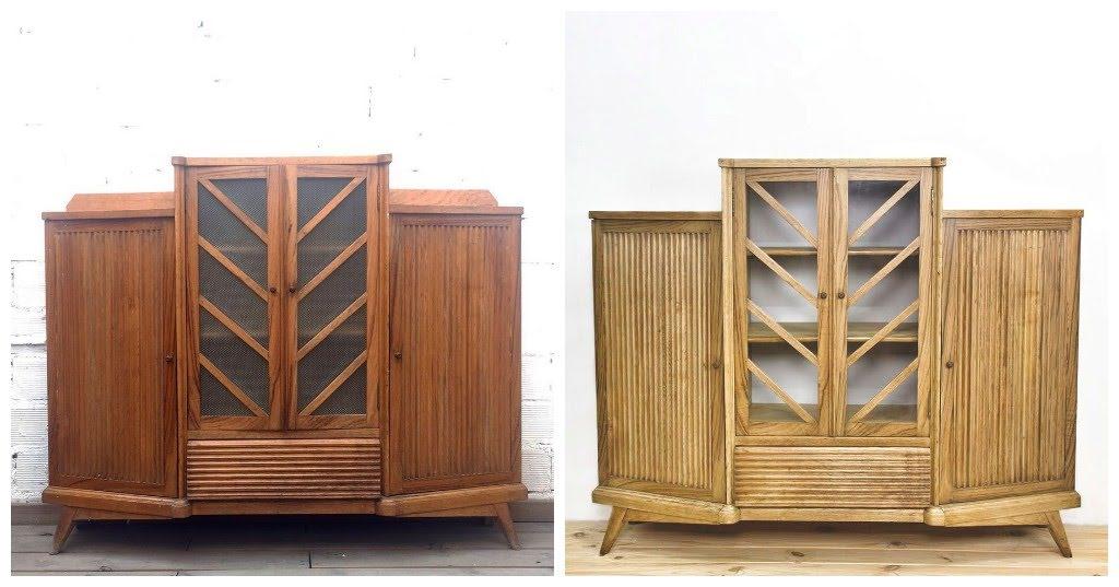 Antes y después - Aparador - Studio Alis