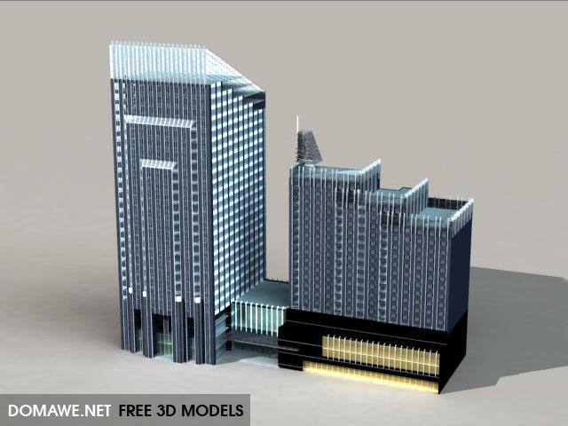 DOMAWE net: Building 3D Model Free Download - 23