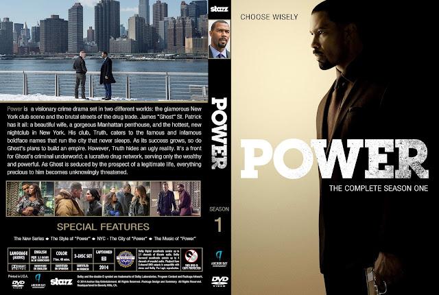 Power Season 1 DVD Cover