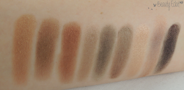 swatch mac Wood-Winked Mulch Antiqued Satin Taupe Smut Club All that Glitters Trax Beauty Marked