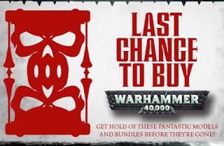 Reactions to Last Chance to Buy from Forgeworld, and their response.