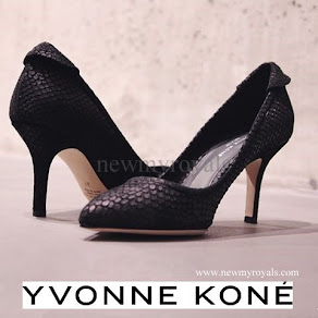 Crown Princess Mette-Marit wore YVONNE KONE Pumps