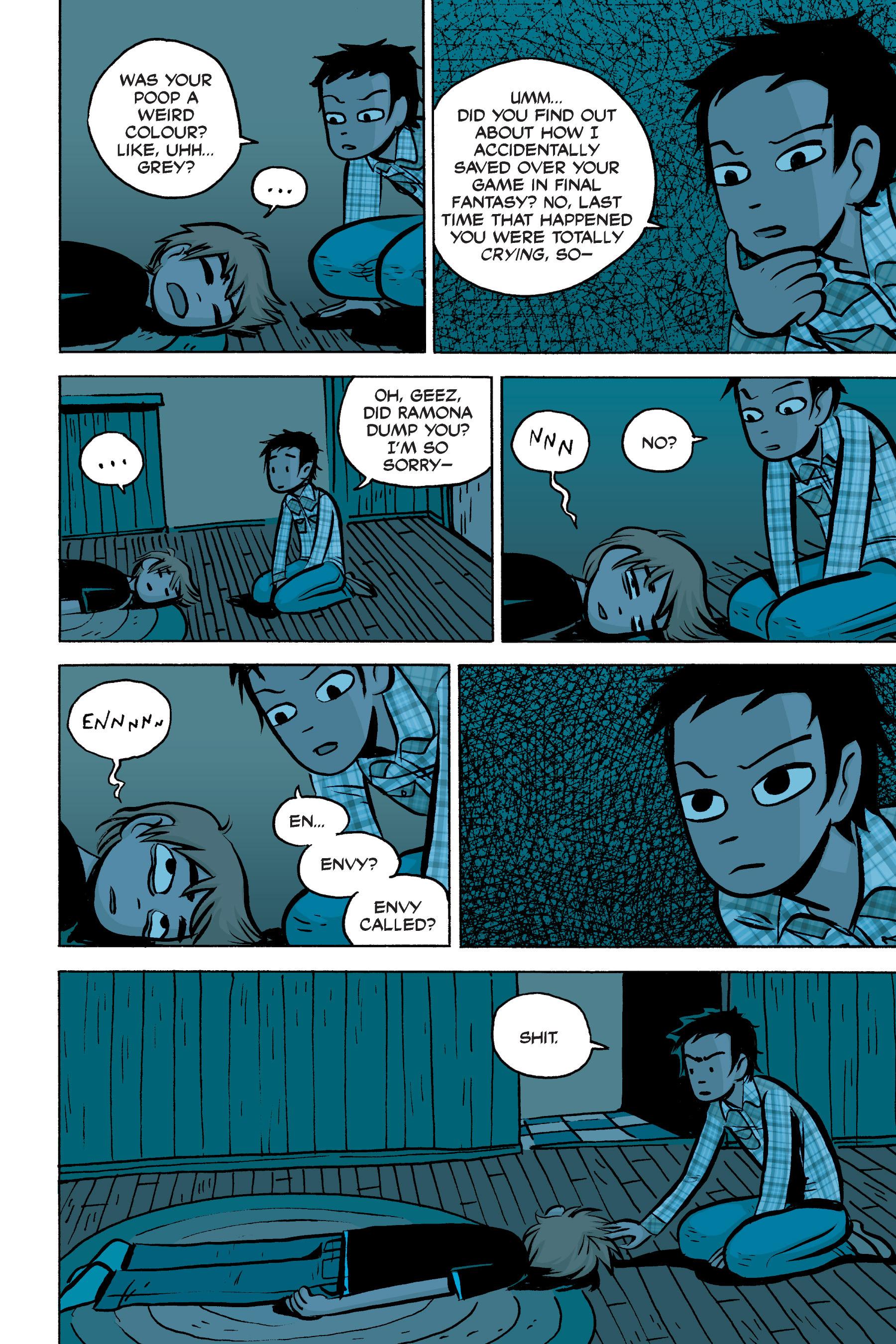 Read online Scott Pilgrim comic -  Issue #2 - 157