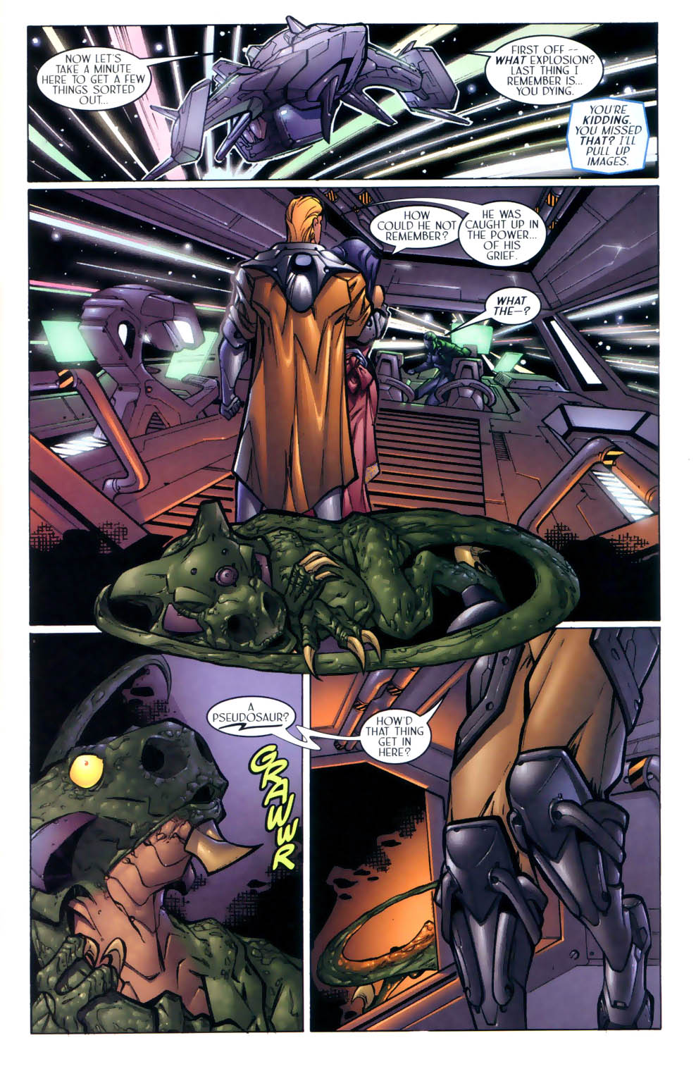 Read online Sigil (2000) comic -  Issue #2 - 8
