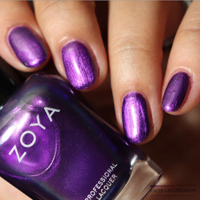Nail polish swatch and review of Zoya Delaney from the Winter 2017 Party Girls collection