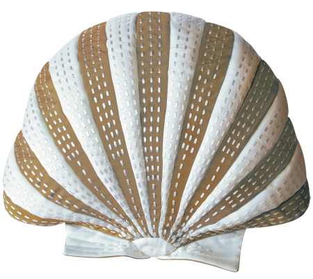seashell shaped pillow