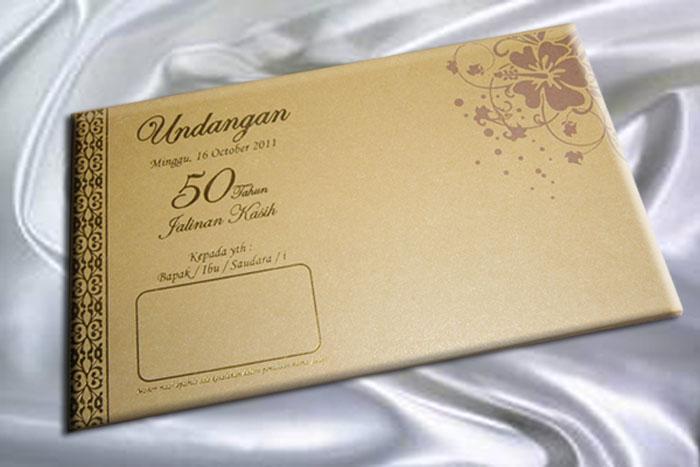 Ihc 101 Undangan Pernikahan Emas Hendydjoklan Undangan Murah