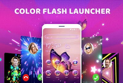 Color Flash Launcher - Call Screen, Themes Apk free on Android