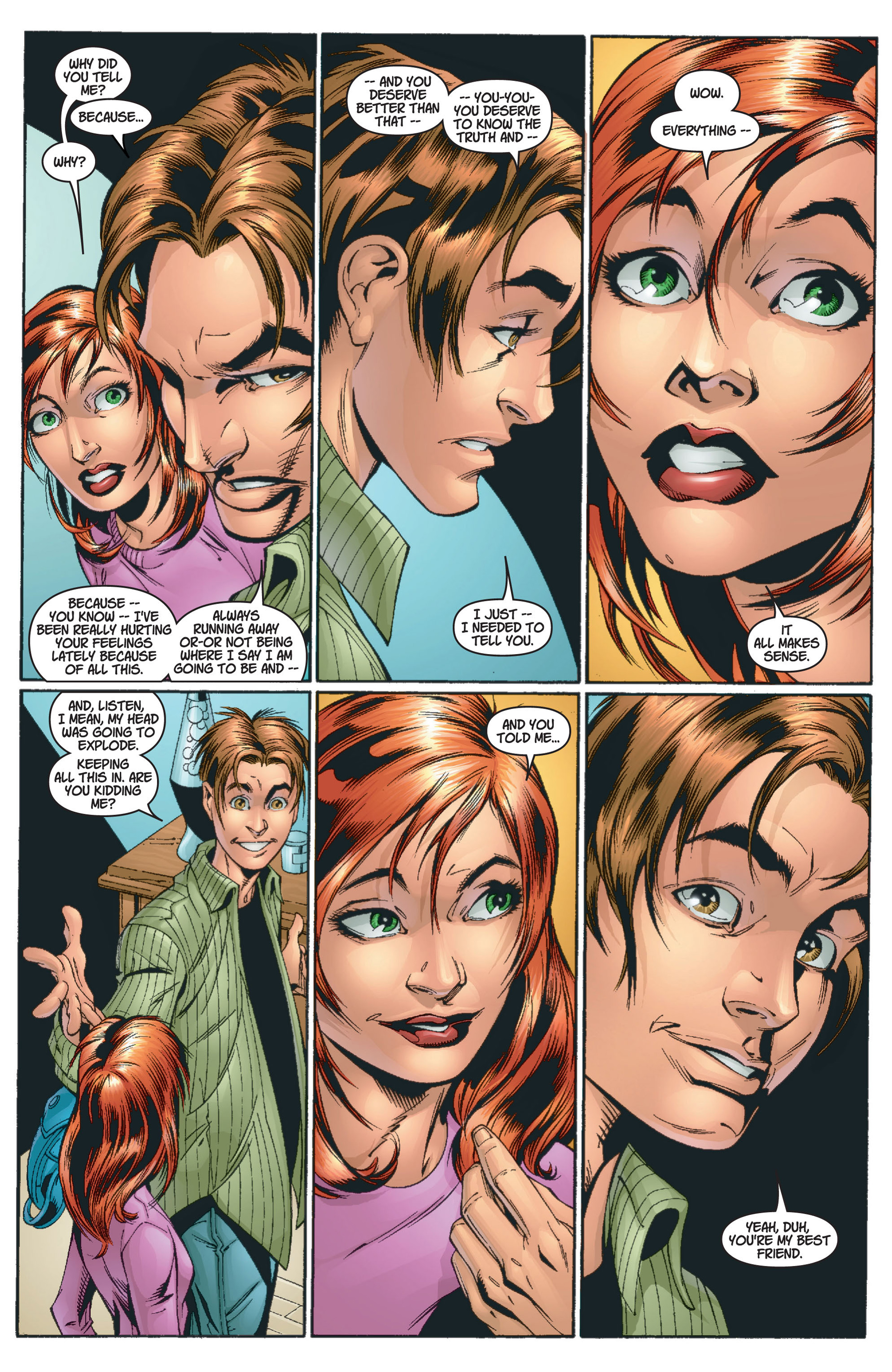Read online Ultimate Spider-Man (2000) comic -  Issue #13 - 16
