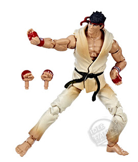 Hasbro Marvel Marvel vs Capcom Infinite Gamerverse Action Figures Black Widow vs Street Fighter's Ryu