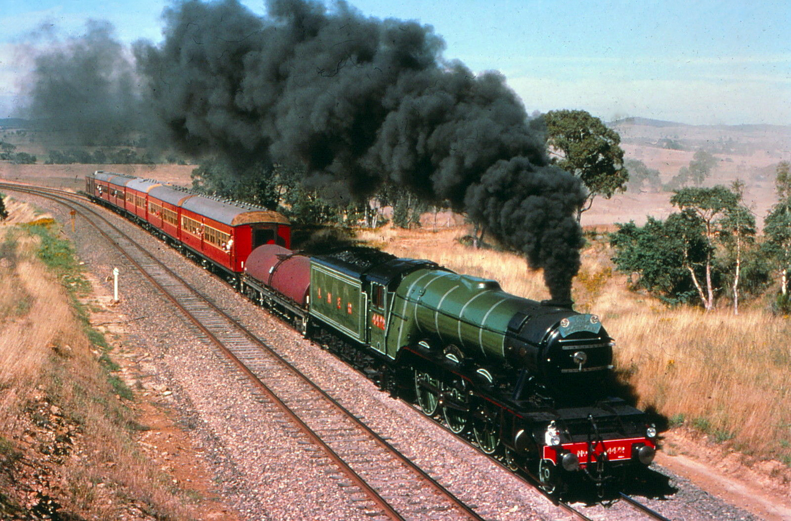 rc world australia with The Flying Scotsman Steamer In on Girls Soccer Football Team Body Painting as well Blurring Lines 1947 Ford Pro Street Rat Rod Pickup Deliverance likewise Hot Dog Car in addition Traxxas Spare Parts Finder furthermore The Flying Scotsman Steamer In.