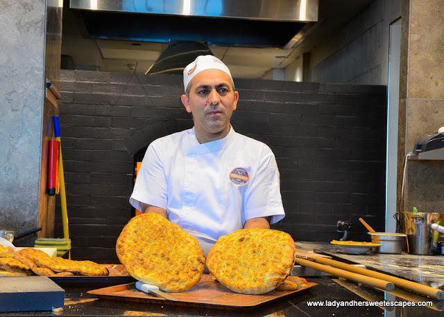 turkish bread in Gunaydin