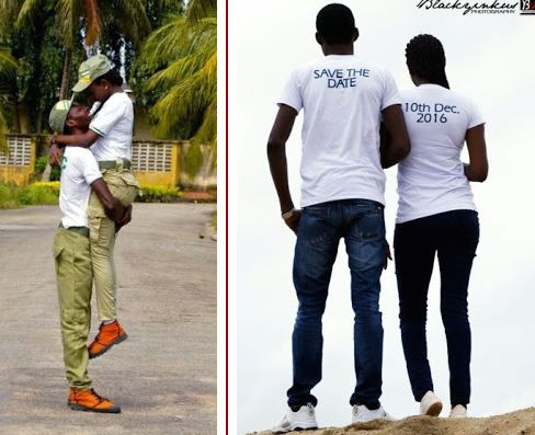 Image result for 2 UNILAG Corpers Who Met During NYSC Registration Set To Wed (Photos)