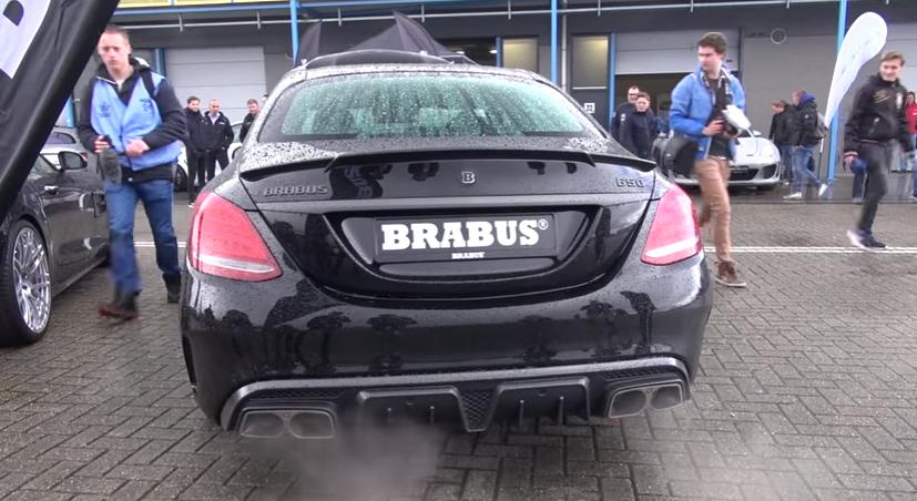 BRABUS 650 4.0 Biturbo V8 C63 S AMG!