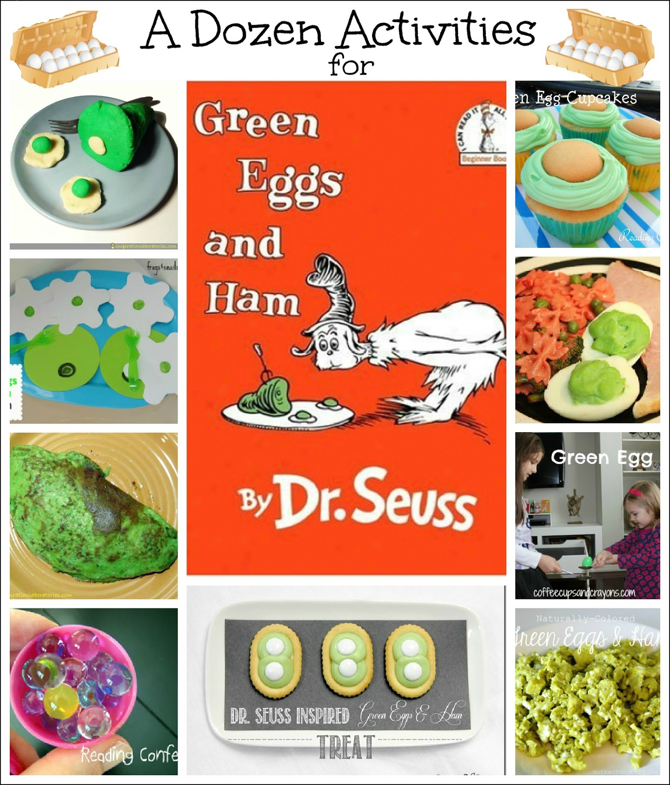 12 Activities For Green Eggs And Ham By Dr Suess