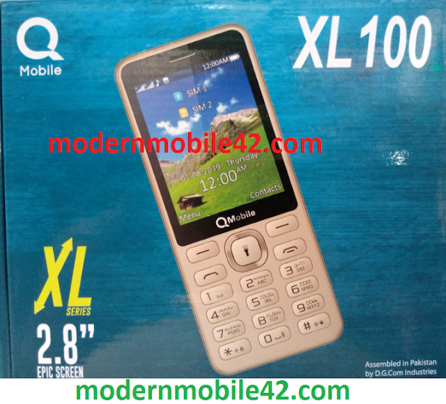 qmobile xl 100 flash file