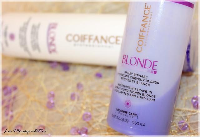 Spray Biphase Hydratant Gamme Blonde Coiffance Professionnel - Les Mousquetettes©