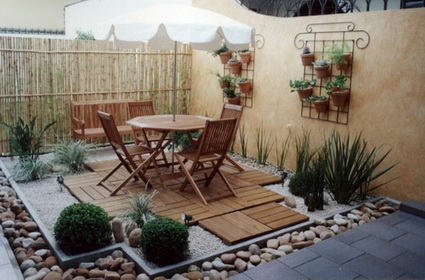 Ideas on Small decorated courtyards 3