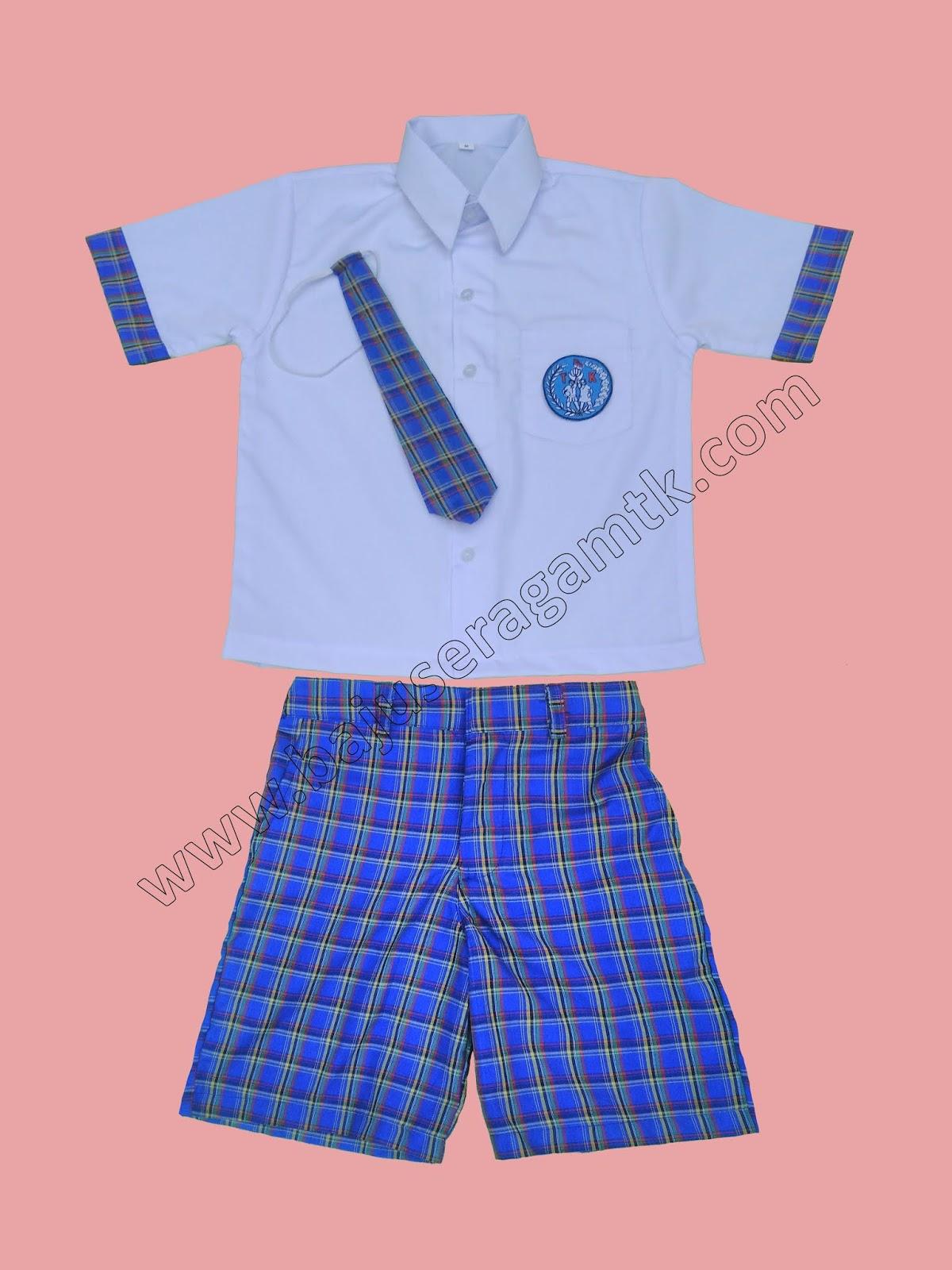 baju seragam TK PAUD nasional
