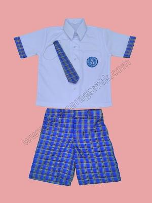 Jual baju model seragam TK PAUD nasional terbaru seragam TK korea dan sailor