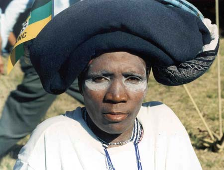The Xhosa traditionally make ingceke cream