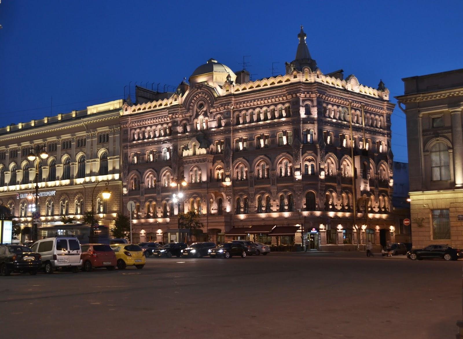 Petersburg nocą