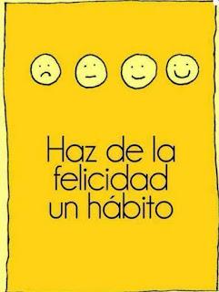 bonita felicidad hábito