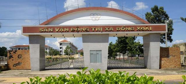 Sân vận động thị xã Đồng Xoài các Khu Đô Thị Cát Tường Phú Hưng 8 phút đi xe