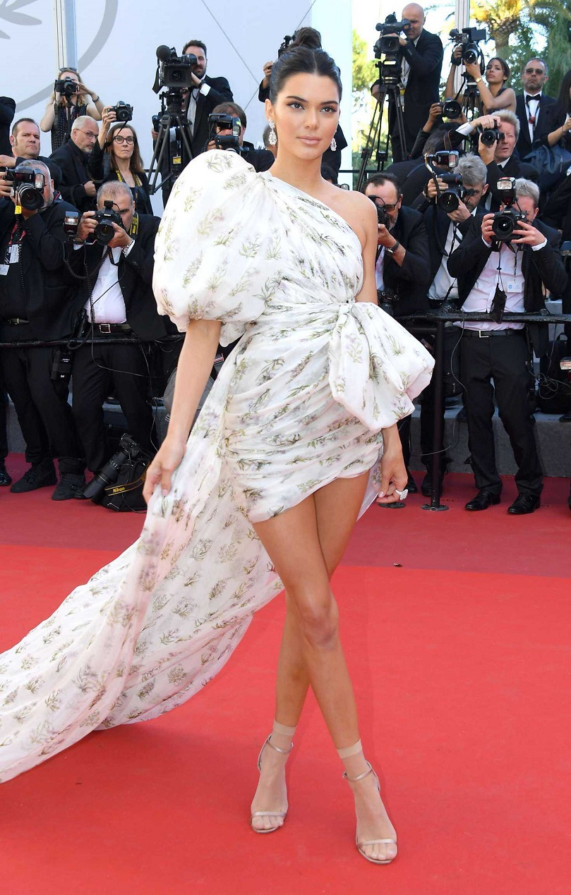 Kendall Jenner at the Premiere of '120 Beats Per Minute' at 70th Cannes Film Festival