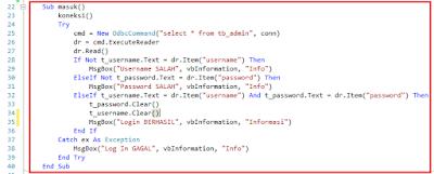 15 - Part2 Menciptakan Aplikasi Hotel Dengan Vb.Net + Database Mysql – Menciptakan Form Login