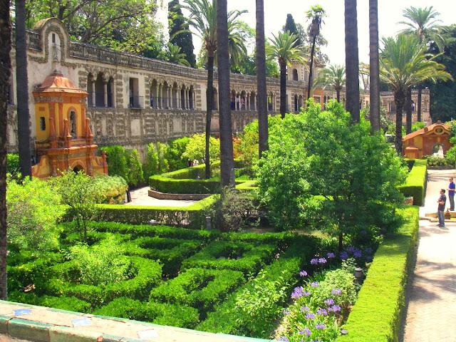 Alcazar - Sevilla- Spanien