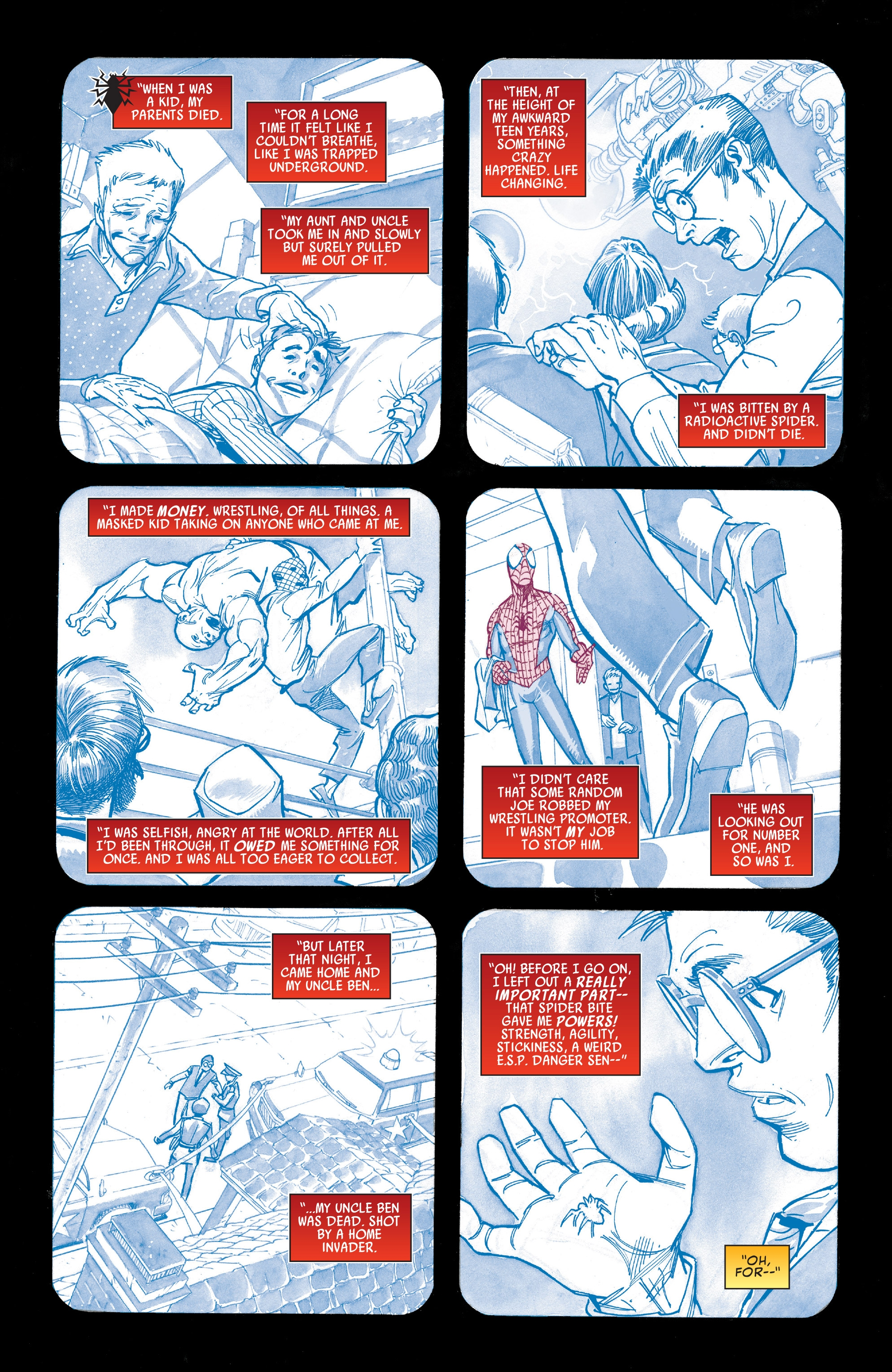 Read online Peter Parker: The Spectacular Spider-Man comic -  Issue #1 - 2