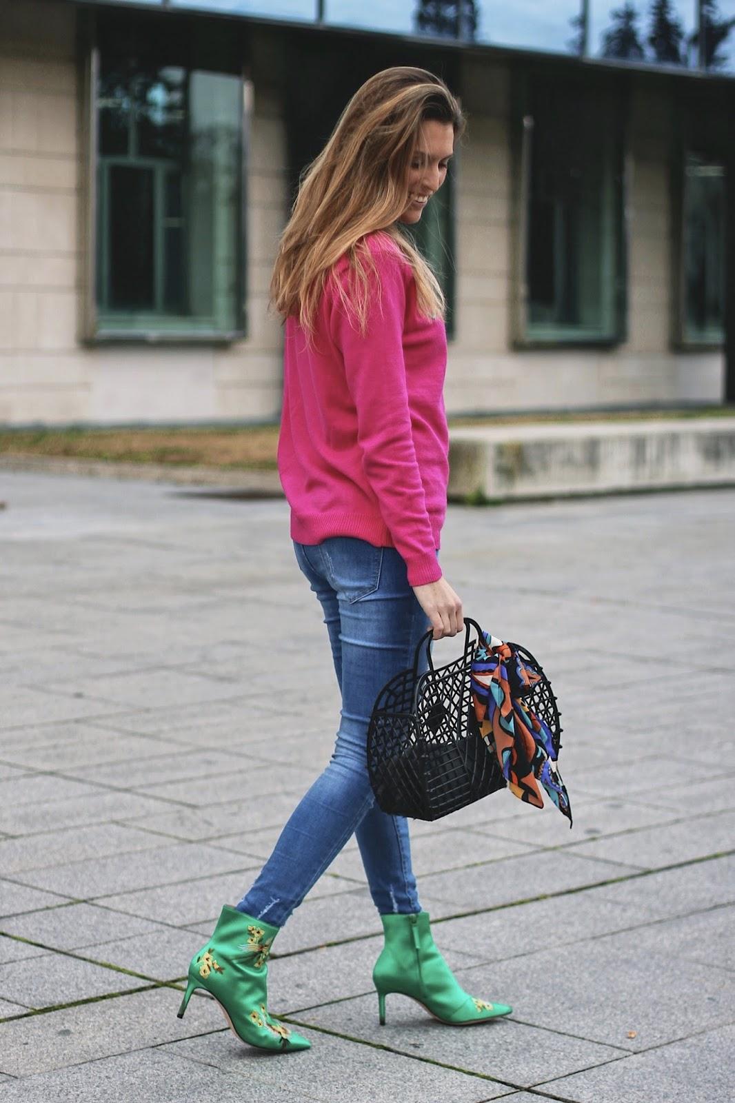 botines estilo asiático
